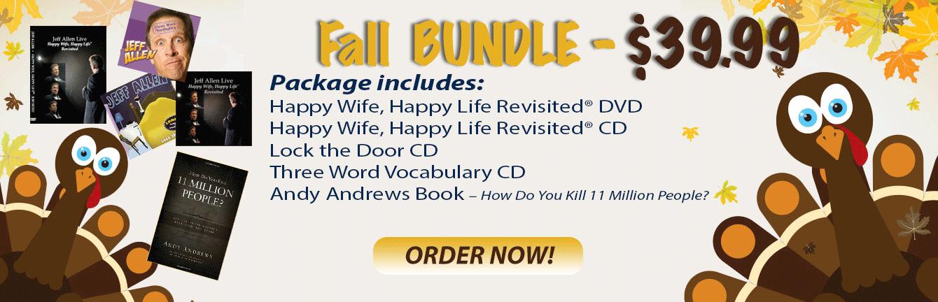 Jeff Allen Fall Special - 1 DVD, 3 CDs, 1 Book