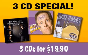 Jeff Allen 3 CD Special